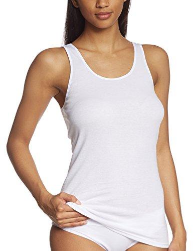 Triumph Damen Unterhemd Katia Basics Shirt02, Weiß (White 03), Gr. 50 (Herstellergröße: 50)