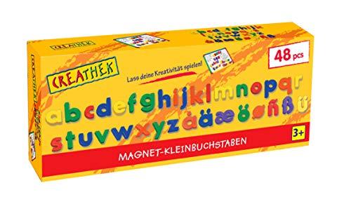 Creathek Magnet Kleinbuchstaben, 48-teilig