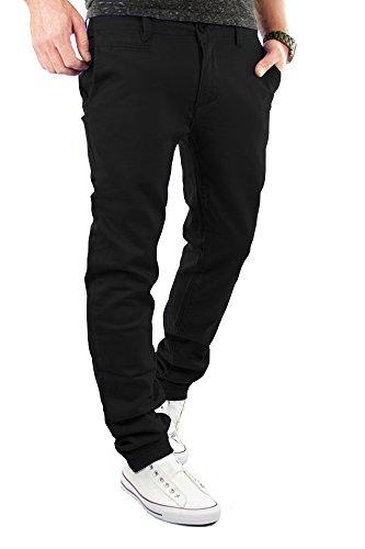 9a5767274690 Preiswert Merish Chino Slim Fit Hose Jeans 6 Farben Neu 68 Schwarz ...