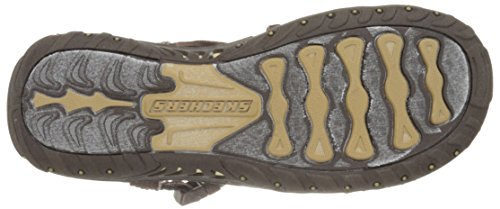 Skechers Reggae Toe Sandal Anneau Chocolate/Blue