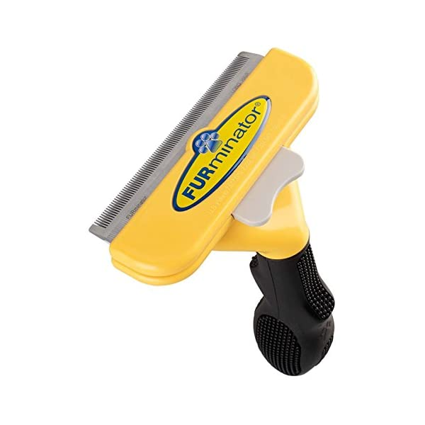"Furminator deShedding Brush for Long Dogs 51-90 Lbs 4"" Inch Edge Blade Tool Comb 1"