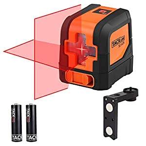Livella laser, Tacklife SC-L01 Laser a Croce Autolivellante Misuratore a Infrarossi Orizzontale e Verticale, Livello… 2 spesavip