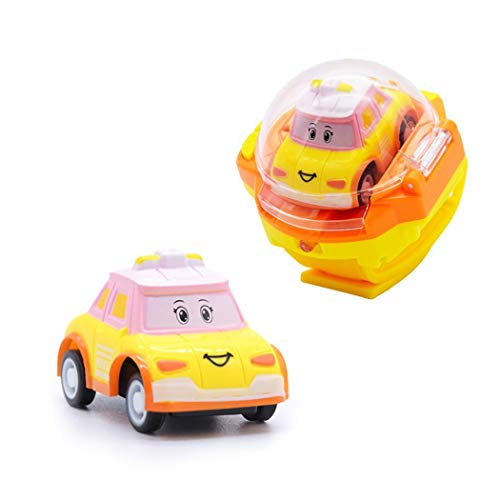 kaimus Mini Uhr Fernbedienung Auto RC Mini Cartoon Auto Gravity Sensing Fernbedienung Spielzeugauto Kinder Spielzeug für Jungen Mädchen