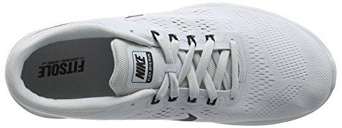 Nike Flex 2016 Run, Chaussures de Running Entrainement Homme Gris (Pure Platinum/Black/White)
