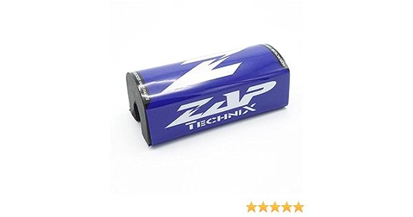 Zap Motocross Enduro Lenkerpolster Fx Blau Weiß Fatbar 28 6mm Auto