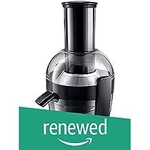 (Renewed) Philips HR1855/00 700-Watt Juicer (Ink Black)