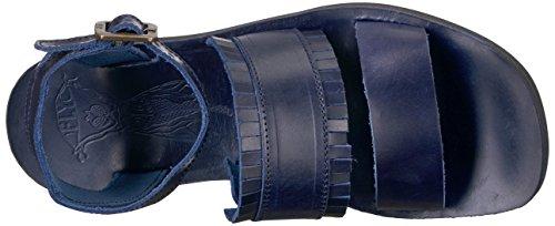 FLY London Damen Mele913fly Sandalen Blau (blue 008)