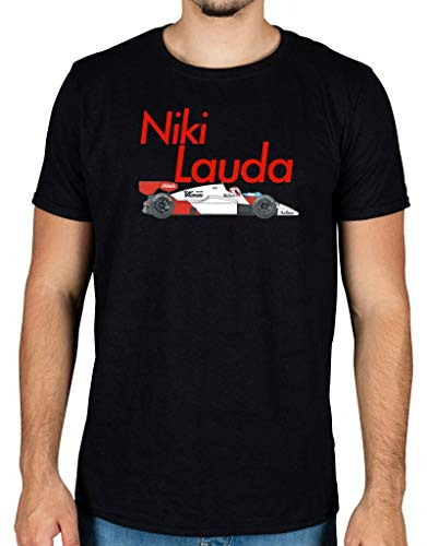 Ulterior Clothing Niki Lauda Classic MP4 Car T-Shirt -
