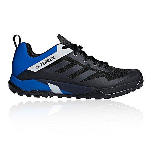 adidas Herren Terrex Trail Cross Sl Traillaufschuhe, Schwarz (Negbas/Carbon/Belazu 000), 45 1/3 EU