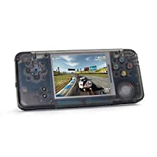 """AOLVO Handheld Game Console, Retro Game Console 3"""" 16 GB 3000 Classic Games Player, Portable Video Game Console Support GBA/NES/SFC/SEGA/NEOGEO/CP1/CP2 And More Birthday Presents for Children"""