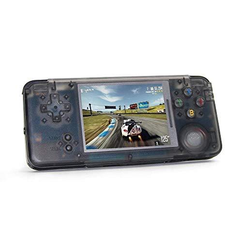 LayOPO RetroGame RS-97, Retro-Spielekonsole mit MP3, E-Book, TV-Out, Video-Funktion, 16 GB 3000 Klassische Spiele-Player, tragbare Videospielkonsole, unterstützt GBA/NES/SFC/SEGA/NEOGEO