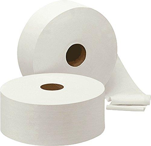 NoName 401850 Toilettenpapiere Mini-Jumbo-Rollen weiß