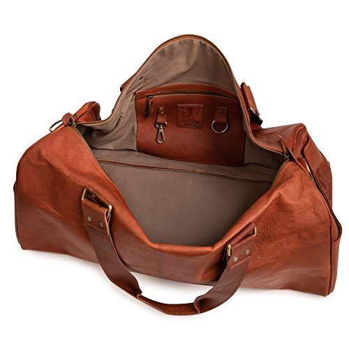 Berliner Bags Oslo XL Reisetasche aus Leder Weekender - 9