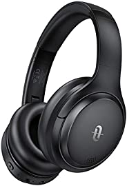 TaoTronics Hybrid Active Noise Cancelling Headphones, Stereo Sound, 35H Playtime, Micro-usb port, Soft Protein
