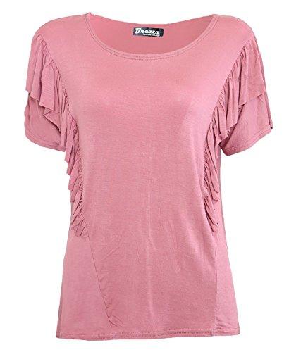 Fashion & Freedom Damen T-Shirt Rose Pink