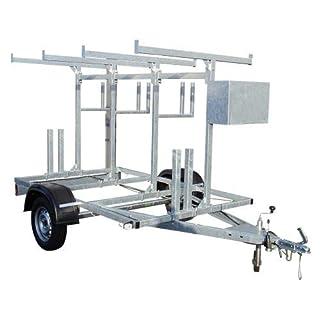 Alumexx ALX Basic Carrier Gerüstanhänger für den Transport Ihres Gerüsts