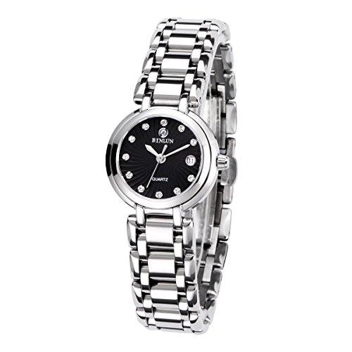 binlun-womens-designer-extral-small-light-weight-black-face-stainless-steel-swiss-quartz-casual-watc