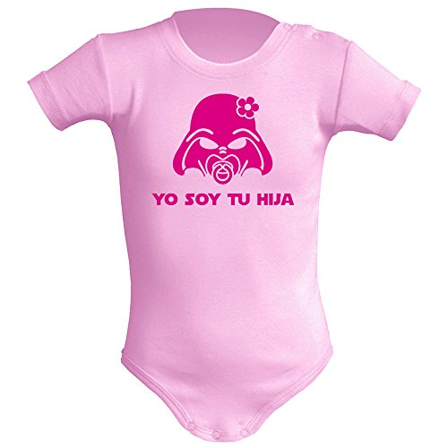 Body bebé unisex Yo soy tu hija (Star wars/Darth Vader - Yo soy tu pa