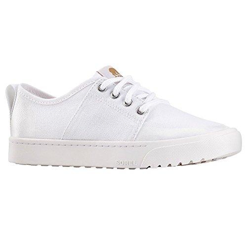 Sorel Campsneak Lace, Baskets Femme Blanc (White)