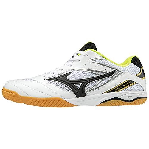 Mizuno Schuh Wave Drive 8, weiß/gelb, 8,0