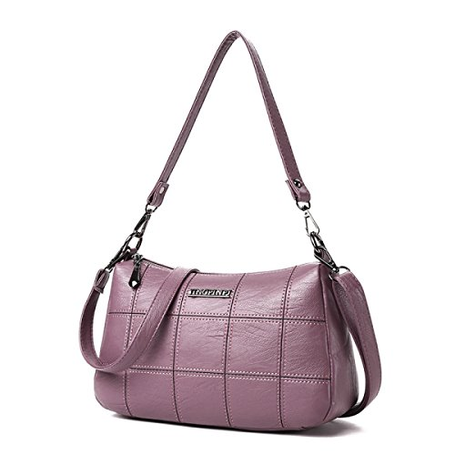 Trend Pink Tasche Lingge Lady Mode Messenger Handtasche Quadratische Tasche Kleine Schulter U7xqxHY