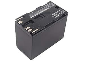 subtel® Batterie premium pour Canon XF100 XF105 XF200 XF205 XF300 XF305, Canon XM2 XM1, Canon XL1 XL2, XL-H1 -H1A, Canon EOS C100 Mark II C500, EOS 300V, EOS 6000, Canon GL2, Canon E30 E2 E1, Canon UC-X55 -X45, Canon V50 XV1, Canon ES8400V (7800mAh) BP-975,BP-955,BP-925,BP-970 Batterie de rechange, Accu remplacement