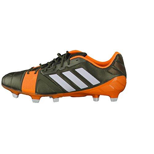 Nitrocharge 1.0 TRX FG - Chaussures de Foot Vert/Blanc/Zeste Solaire Vert