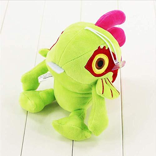 ahzha Hochwertige Murloc Plüsch Puppen Schöne Fisch Stofftier Tier Weiche Figuren Für Baby Geschenk 26 cm