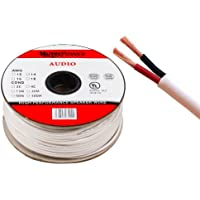 MuteCable - Cavo per altoparlanti 2 x 1.5mm² (16AWG) 30M CL2 Rated UL Listed Oxygen Free Copper puro (per l'installazione a parete) 30 Meter - Conduttore Assemblea