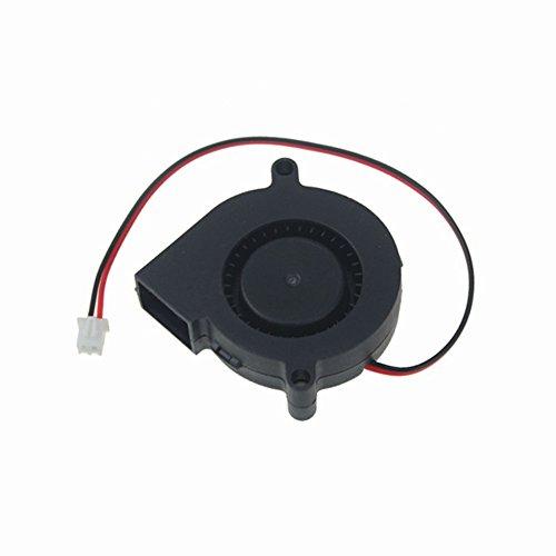 solanton 50 mm x 15 mm 5015 12 V 0,12 A DC Brushless Cooling Fan Auspuff 5 cm Gebläse Lüfter PC Kühler (50mm 15mm Lüfter X)