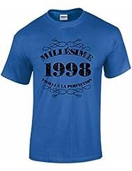 T-Shirt Anniversaire Homme 18 Ans Millésime 1998