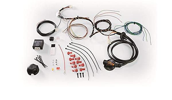 Universal Elektrosatz 13 Polig Für Anhängerkupplungen 13 Polig Für Fahrzeuge Ohne Checkcontrol System Auto