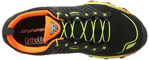 Dynafit Ms Feline Ultra, Chaussures de Trail homme Noir (Black/fluo Yellow)
