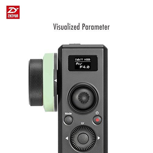 Zhiyun Crane 2 Motion Sensor Fernbedienung mit folgen Fokus 2.4G Wireless Control 25 Stunden Laufzeit visualisierte Parameter auf OLED-Bildschirm (Remote Control Crane)