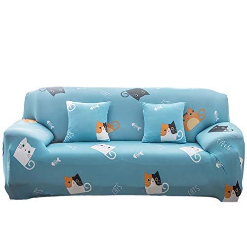 GladiolusA Sofa Überwürfe Sofabezug Stretch Elastische Sofahusse Sofa Abdeckung In Verschiedene Größe Und Farbe Stil 29 3 Sitzer für Sofalänge 190-230cm