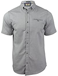 Tokyo Laundry - Chemise oxford Homme Manches courtes