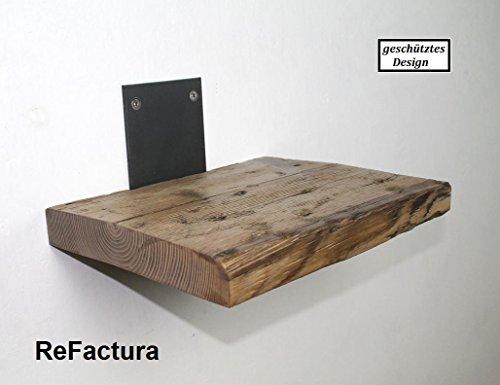 Wandregal, Wandboard aus historischem Holz