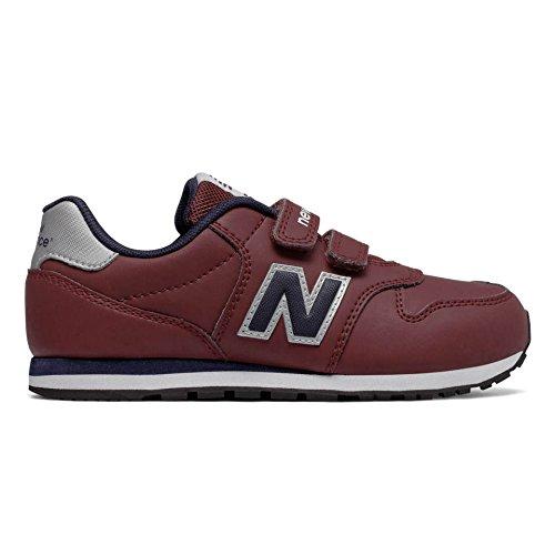 NEW BALANCE KV500 DBY burdeos zapatos de bebé de color rojo zapatillas de deporte de los ganchos 28.5...