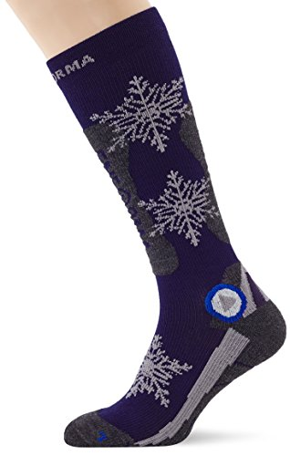 enforma Herren Ski Hot Kompression Socken, Herren, Ski Hot Compression, Multicoloured (Blu Preisvergleich