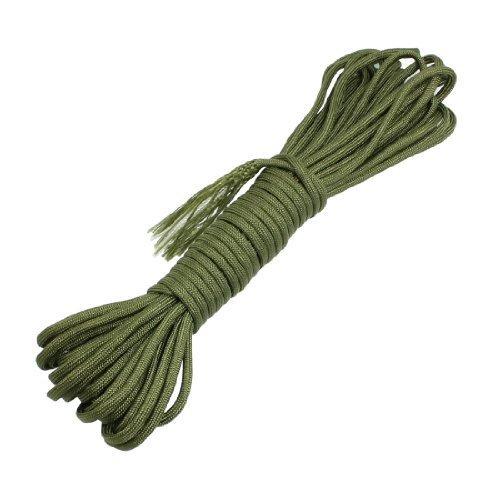 10 mètres de survie de militaire de jeu en corde Parachute en Nylon Vert Olive