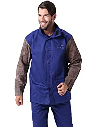 Homyl Schwei/ßer Schwei/ßen Hoze//Hemd Schutzkleidung Bekleidung Schwei/ßerschutz XL Hemd