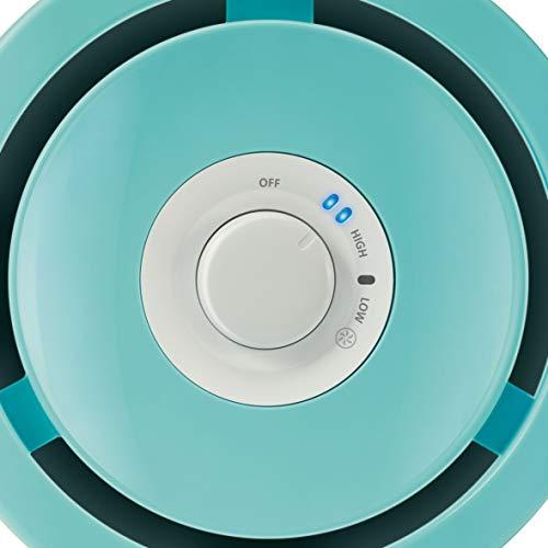Philips HU4801/01 Luftbefeuchter (bis zu 25m², hygienische NanoCloud-Technologie, leiser Nachtmodus, für Kinder und Babies geeignet) weiß, hellgrün
