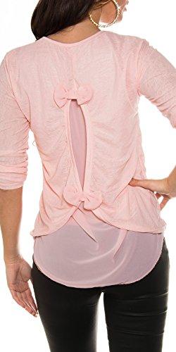 KouCla - Pull - Femme Taille unique Rose