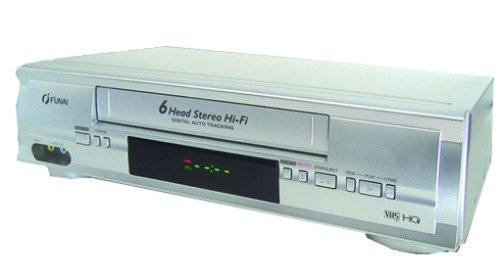 Funai 31 A 650 VCR-Rekorder Silber