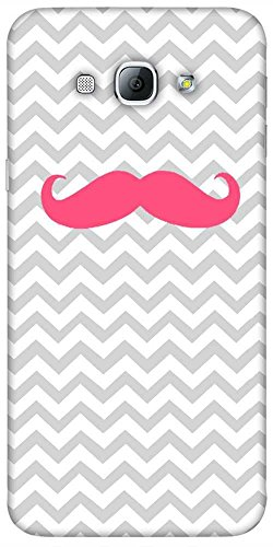 Snoogg Wave Mustache Hard Back Case Cover Shield For Samsung Galaxy A8 4G  available at amazon for Rs.199