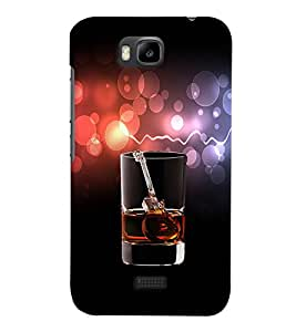 PRINTVISA Whisky Guitar Case Cover for Huawei Honor Bee