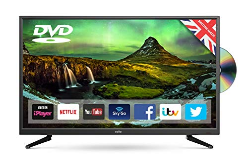 Cello Superfast Smart LED TV with Built-In DVD Player