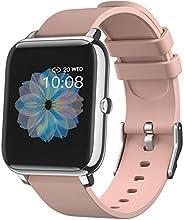 Smart Watch,Orologio Fitness Activity Tracker, Impermeabil IP68,Cardiofrequenzimetro da PolsoCronometro Notifi
