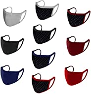 Urban Basics Mouth Nose Cover Respirator Anti Pollution Reversible, Reusable & Washable Double Layer Cotto