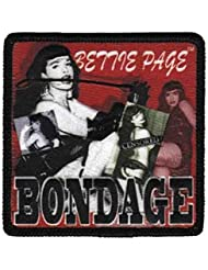 BETTIE PAGE sew on patch